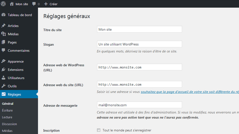 Comment bien configurer WordPress ?