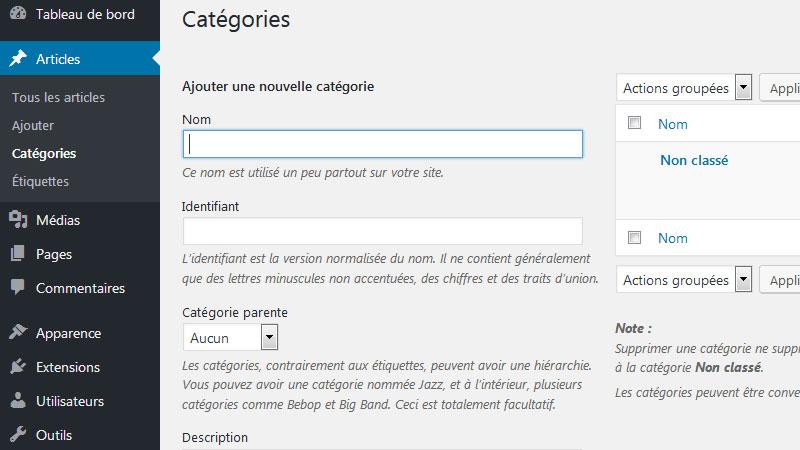 La gestion du contenu dans WordPress