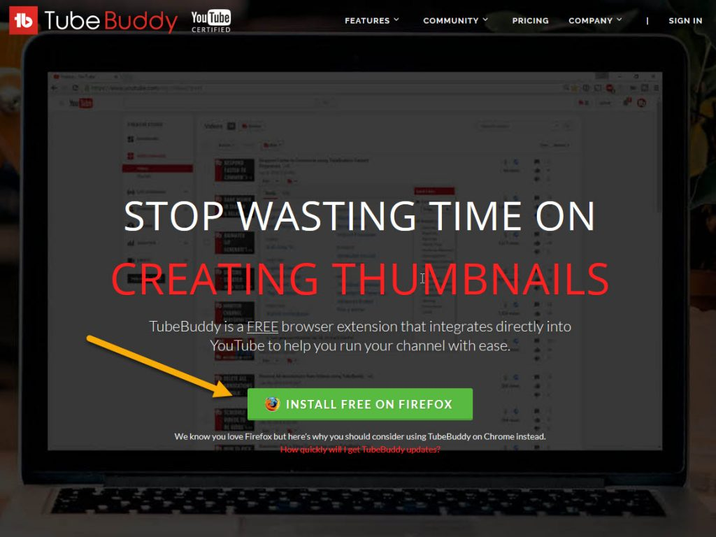 TubeBuddy youtube tag plugin chrome