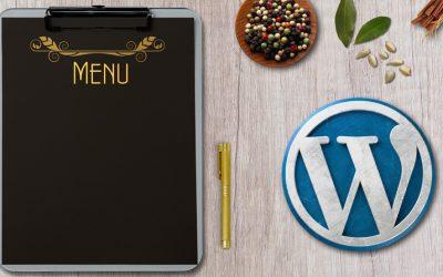 La création d'un menu personnalisé dans WordPress