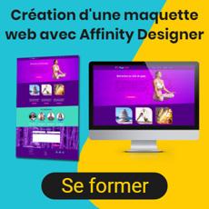 Créer une maquette web avec Affinity Designer